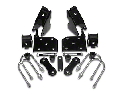 Crown Automotive Front Spring Mounting Kit (87-95 Jeep Wrangler YJ)