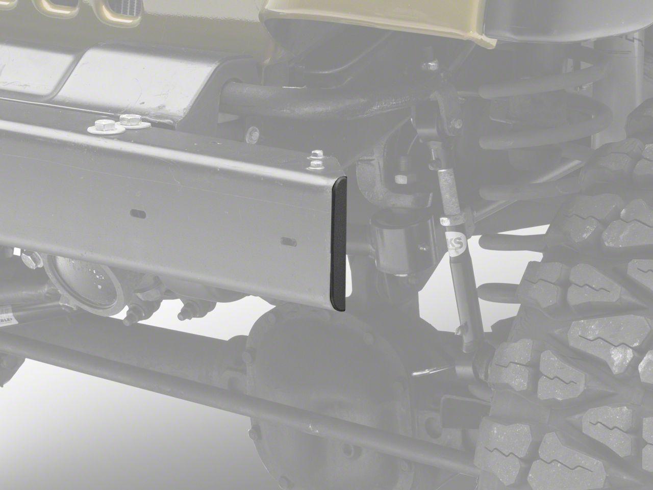 Front Stubby Bumper End Cap (97-06 Jeep Wrangler TJ)