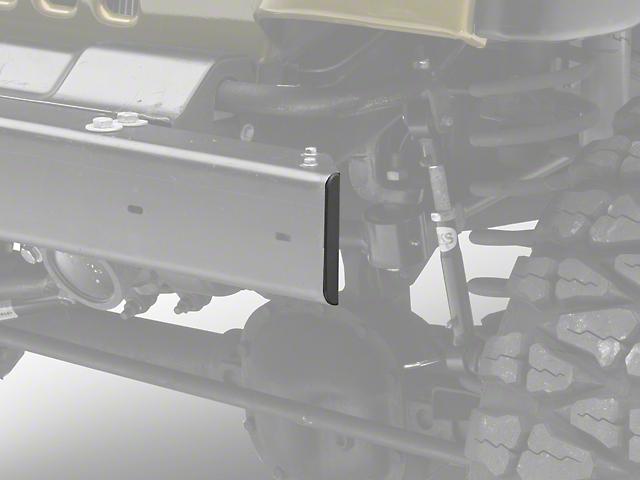 Stubby Front Bumper End Cap (97-06 Jeep Wrangler TJ)