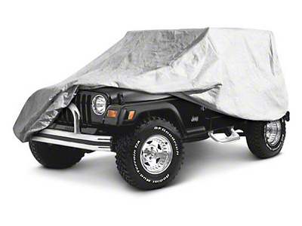 RT Off-Road Full Car Cover - Gray (07-18 Wrangler JK 4 Door)