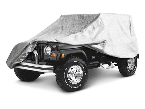 RT Off-Road Full Car Cover - Gray (04-06 Wrangler TJ Unlimited)