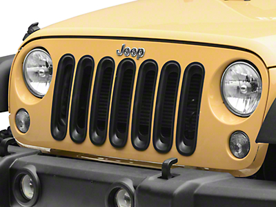 RT Off-Road Grille Inserts - Black (07-18 Wrangler JK)