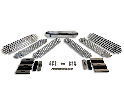 RT Off-Road Grille Inserts - Stainless (07-18 Wrangler JK)