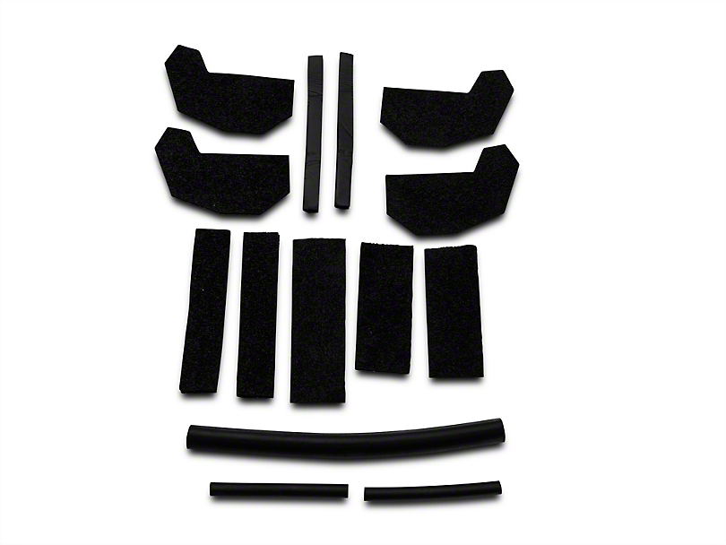 Hard Top Seal Kit (07-18 Wrangler JK)