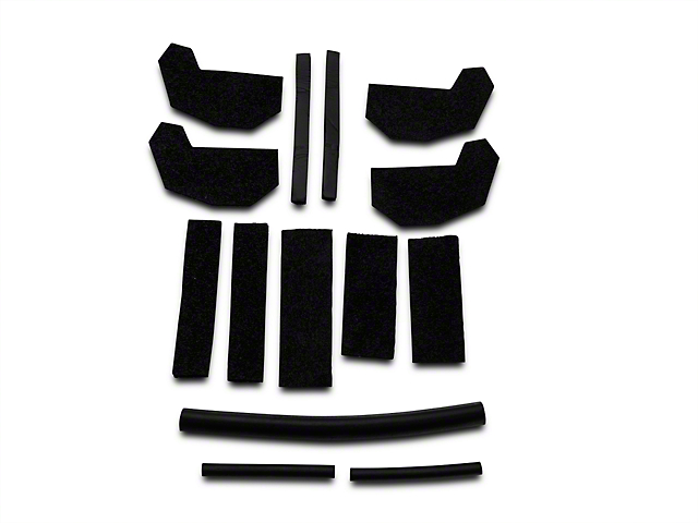 Hard Top Foam Blocker Seal Kit (11-14 Jeep Wrangler JK)