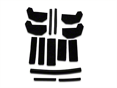 Crown Automotive Hard Top Seal Kit (07-18 Wrangler JK)