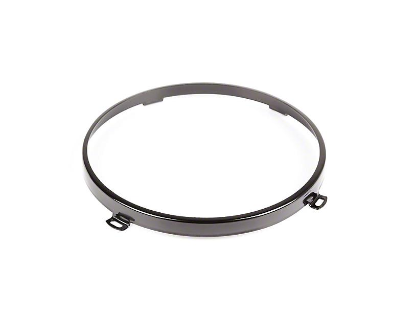 Headlamp Retainer - Black (07-18 Jeep Wrangler JK)