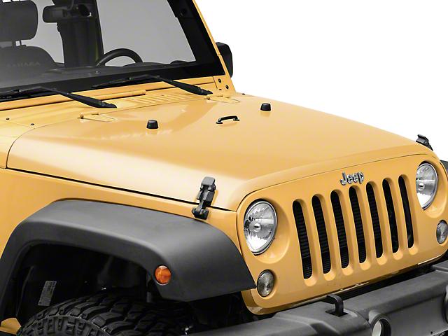 Hood - Unpainted (07-18 Jeep Wrangler JK)