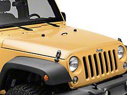Hood; Unpainted (07-18 Jeep Wrangler JK)