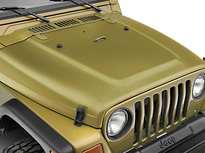 Crown Automotive Hood - Unpainted (97-06 Wrangler TJ)
