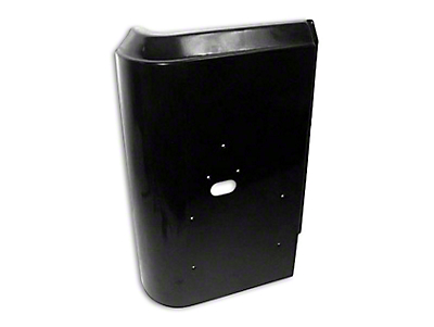 Crown Automotive Left Corner Panel - Black Primer (97-06 Jeep Wrangler TJ)