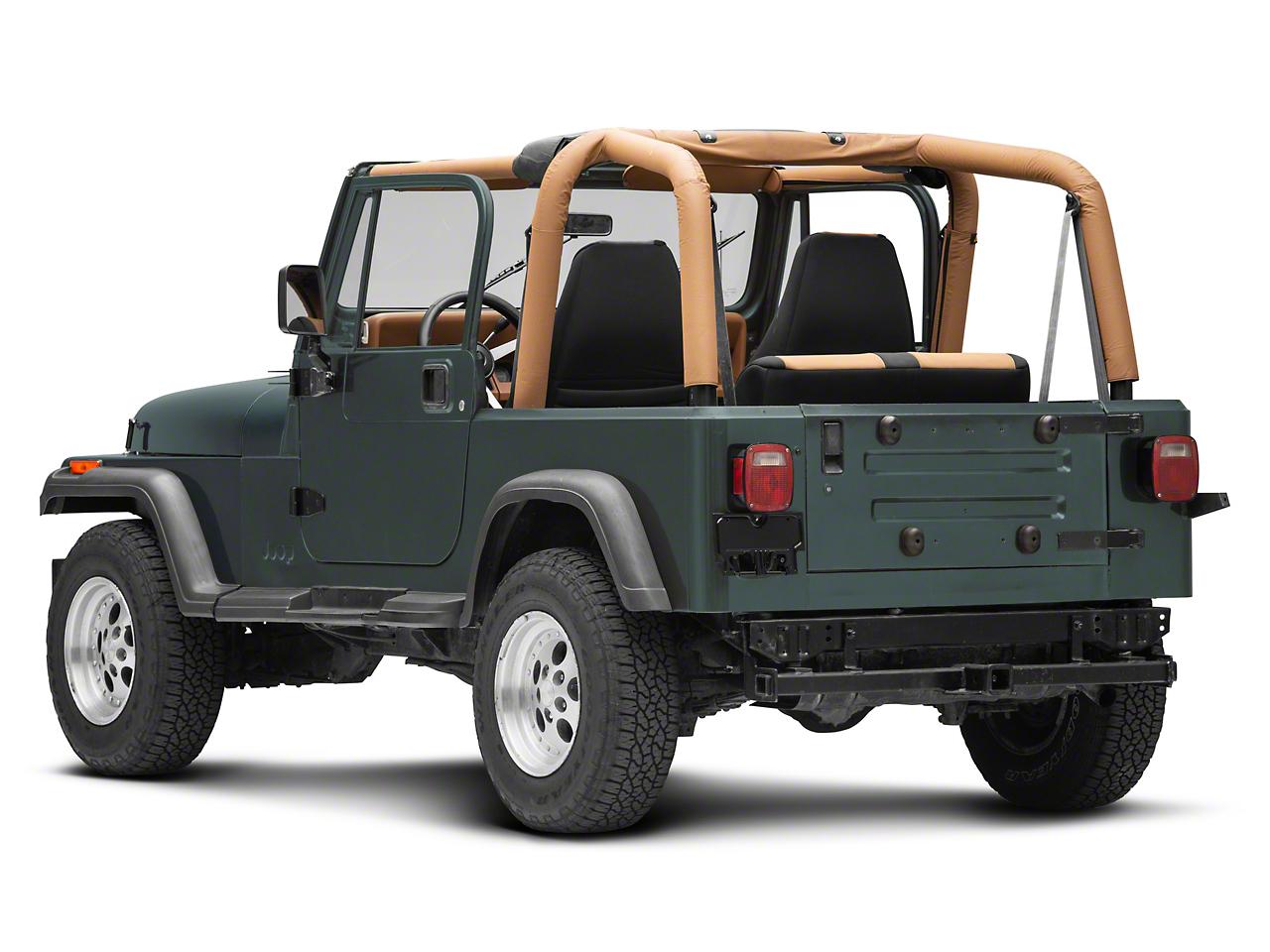 Omix-ADA License Plate Bracket (87-95 Jeep Wrangler YJ)