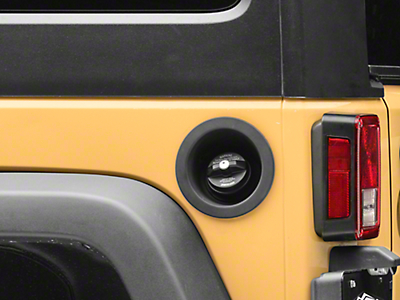 Locking Gas Cap (01-18 Jeep Wrangler TJ & JK)