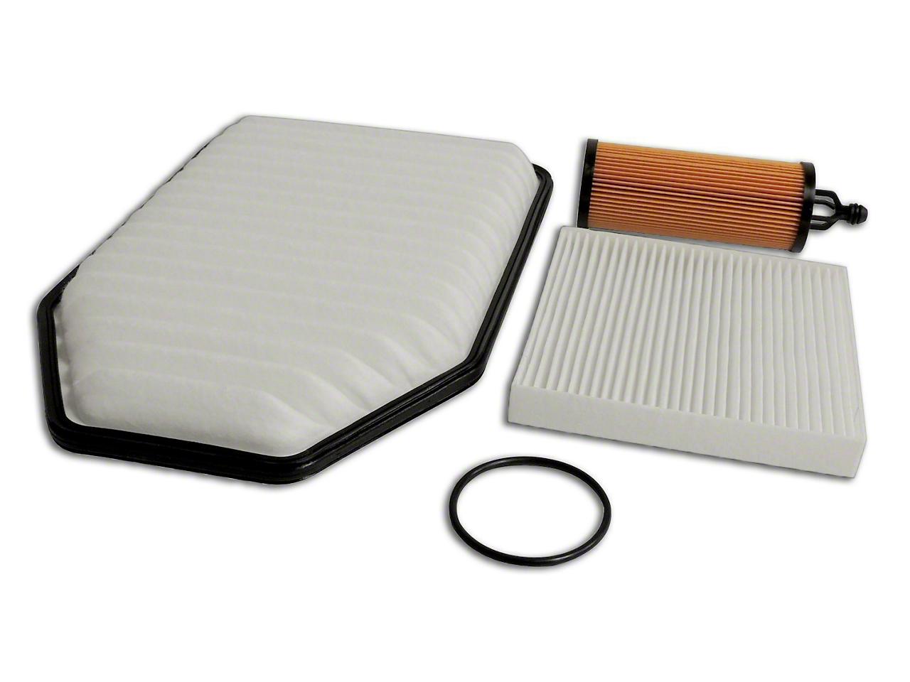 Crown Automotive Master Filter Kit (14-18 3.6L Jeep Wrangler JK)