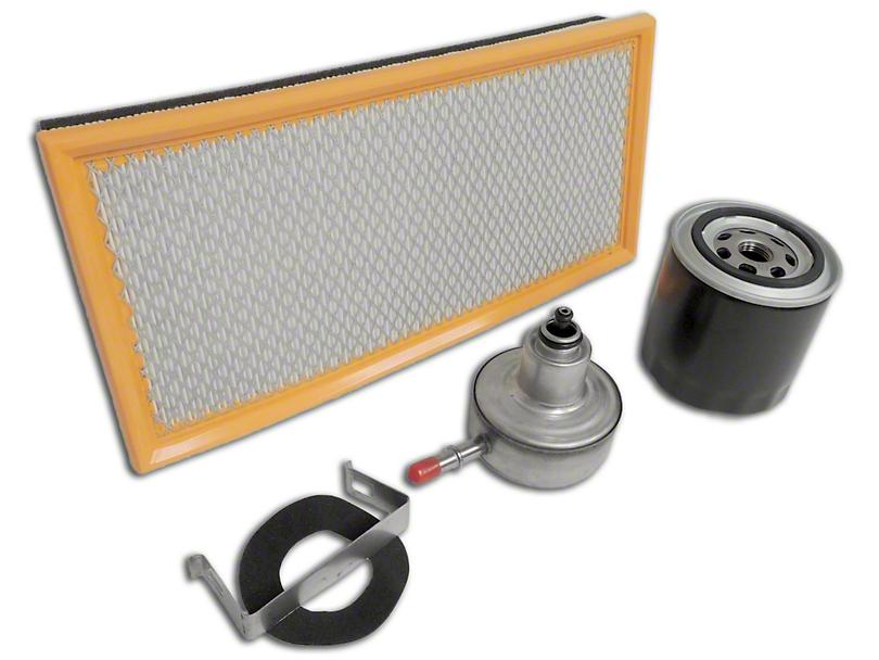 Master Filter Kit (97-04 2.5L or 4.0L Jeep Wrangler TJ)