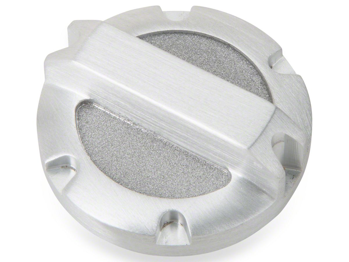 Rugged Ridge Brushed Billet Aluminum Brake Master Cylinder Cap (97-18 Jeep  Wrangler TJ & JK)