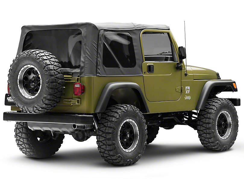 Rear Bumper with Extensions (97-06 Jeep Wrangler TJ)