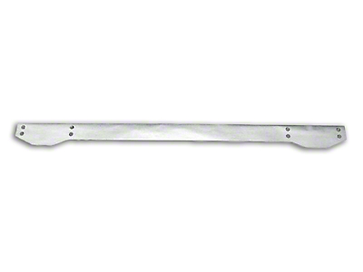 RT Off-Road Rear Bumper Overlay - Stainless Steel (87-95 Wrangler YJ)