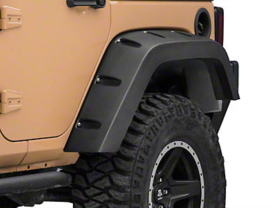 Omix-ADA Rear Left Fender Liner (07-18 Jeep Wrangler JK)