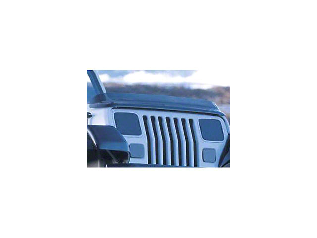 Rugged Ridge Hood Bug Deflector - Smoked (87-06 Jeep Wrangler YJ & TJ)