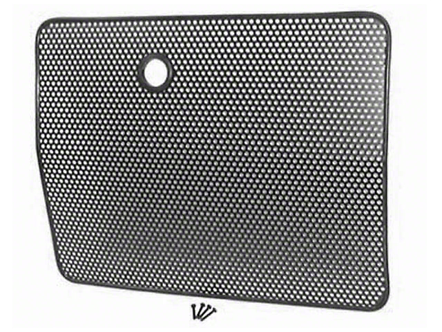 Rugged Ridge Bug Grille Screen - Black (87-95 Jeep Wrangler YJ)