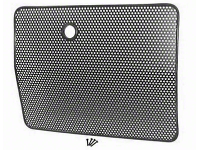 Rugged Ridge Radiator Bug Screen - Black (87-95 Wrangler YJ)