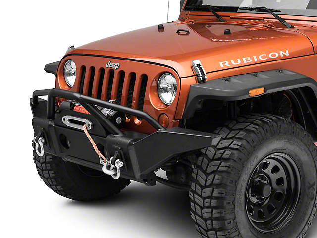 bdc43440250 RT Off-Road Jeep Wrangler Recovery Front Bumper RT20041 (07-18 Jeep  Wrangler JK)