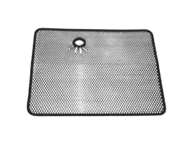 Rugged Ridge Bug Grille Screen; Stainless Steel (87-95 Jeep Wrangler YJ)