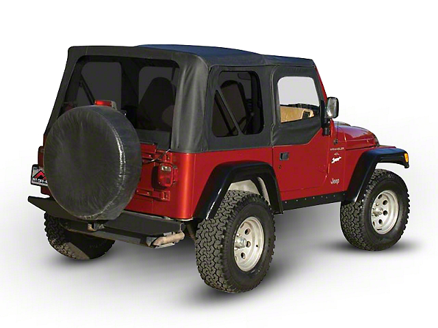 Rt Off Road Jeep Wrangler Sailcloth Replacement Top