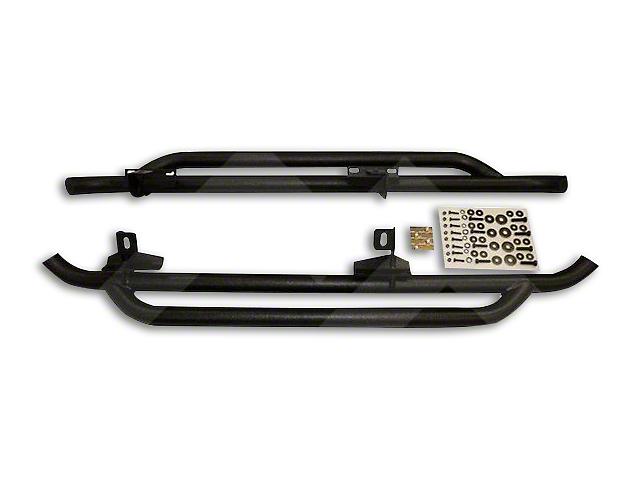 Crown Automotive Side Guard Set - Textured Black (07-18 Wrangler JK 2 Door)