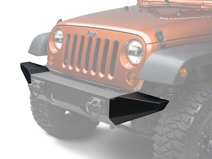 Rugged Ridge Bumper Ends for Xtreme Heavy Duty Bumper (07-18 Jeep Wrangler JK)