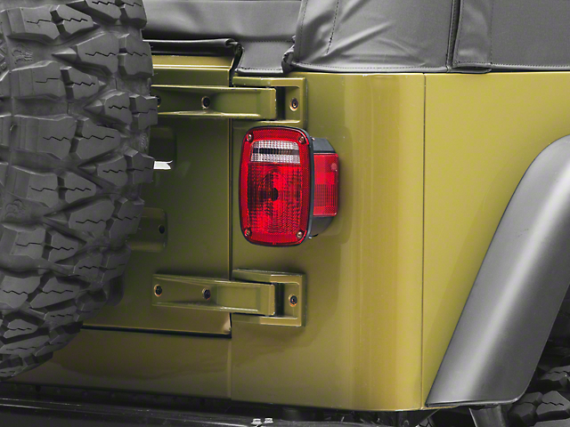 Tail Light Lens (87-06 Jeep Wrangler YJ & TJ)
