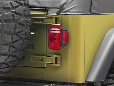 Tail Light Lens (87-06 Wrangler YJ & TJ)
