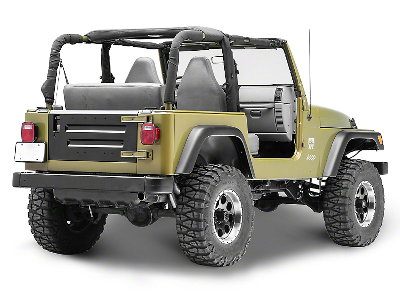 Replacement Tailgate (97-06 Jeep Wrangler TJ)