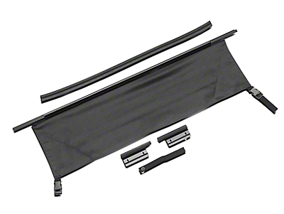 RT Off-Road Tailgate Bar & Tonneau Cover Kit (87-06 Jeep Wrangler YJ & TJ)