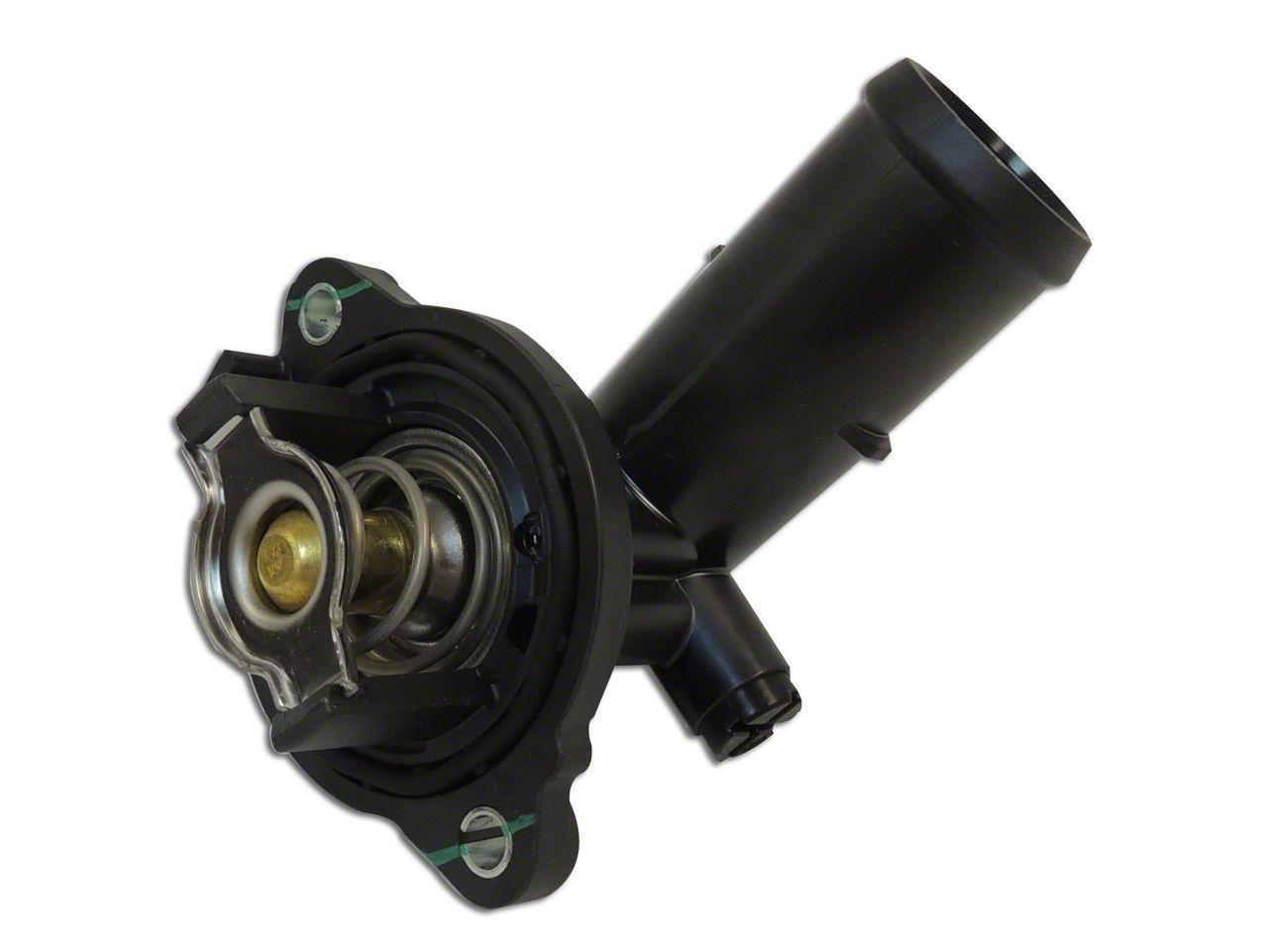 Thermostat & Housing - 203 Degree (12-18 3.6L Jeep Wrangler JK)