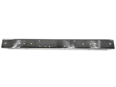 Rugged Ridge Bumper Overlay Front Stainless Steel (87-95 Jeep Wrangler YJ)