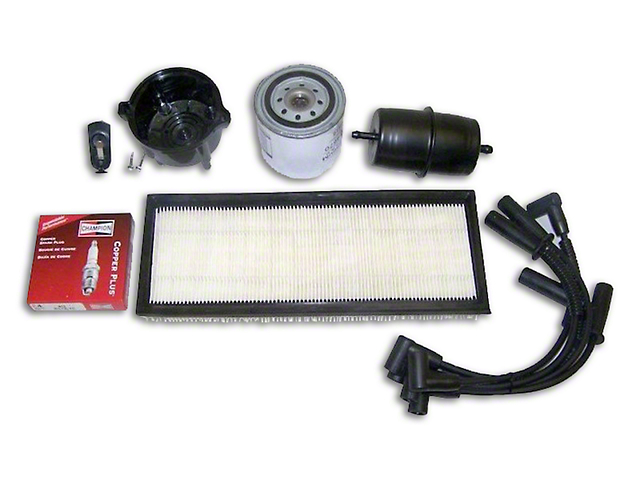 Ignition Tune Up Kit (91-93 2.5L Jeep Wrangler YJ)