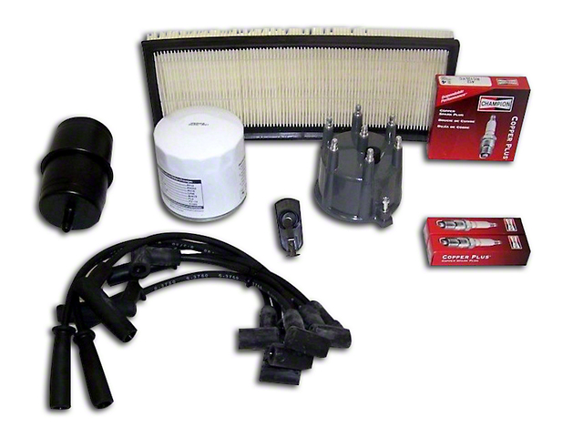 Ignition Tune Up Kit (91-93 4.0L Jeep Wrangler YJ)