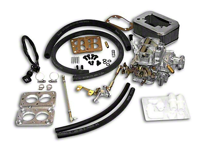 Vintage Weber Carburetor w/ Manual Choke (87-90 4.2L Wrangler YJ)