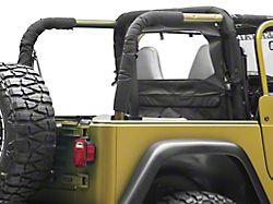 Windbreaker - Black Denim (87-06 Jeep Wrangler YJ & TJ)