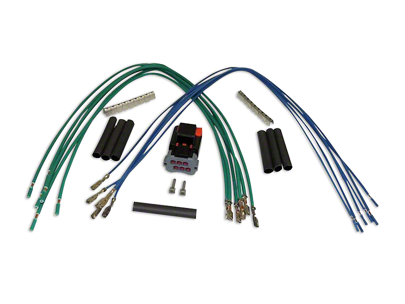 Wiring Harness Repair Kit (97-06 Jeep Wrangler TJ w/ Hard Top)