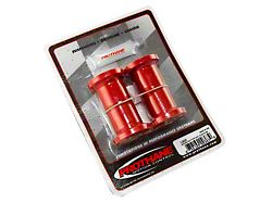 Leaf Spring Bushing Kit; Red (87-95 Jeep Wrangler YJ)