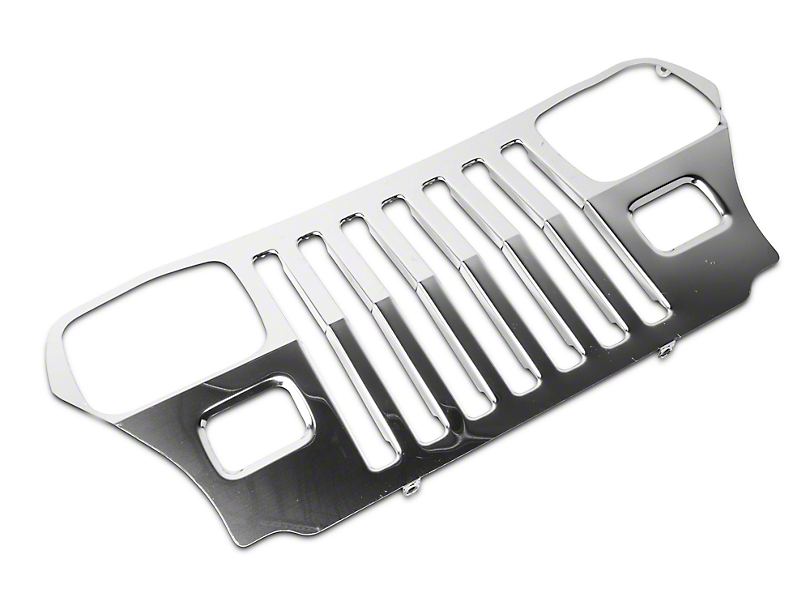 Overlay Grille w/ Headlight Bezels (87-95 Jeep Wrangler YJ)
