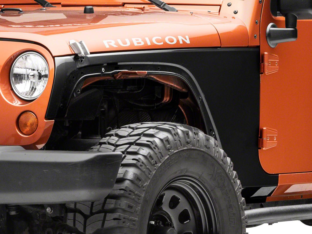 Omix-ADA Replacement Steel Fender - Left Front (07-18 Jeep Wrangler JK)