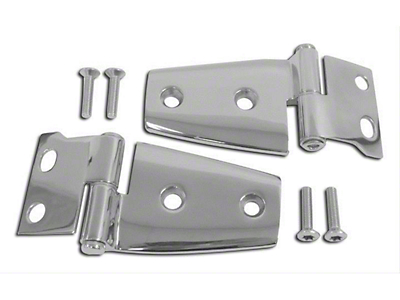 RT Off-Road Stainless Steel Hood Hinge Set (07-18 Wrangler JK)