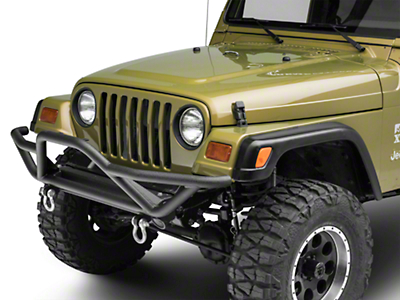 RT Off-Road Rock Crawler Front Bumper (87-06 Jeep Wrangler YJ & TJ)