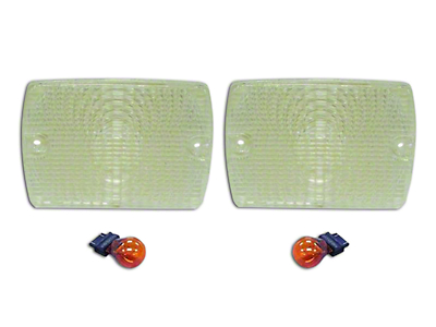 RT Off-Road Parking Light Kit - Clear (87-93 Wrangler YJ)