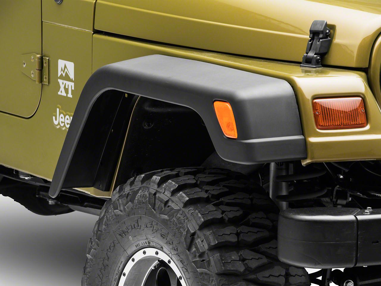 Wide Fender Flares (97-06 Jeep Wrangler TJ)