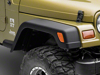 Crown Automotive Wide Fender Flares w/ Extensions (97-06 Wrangler TJ)